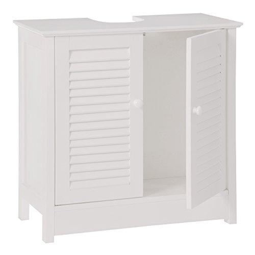 Premier housewares armario de ba o para debajo del lavabo 60 x 60 x 30 cm color blanco - Armarios bano amazon ...