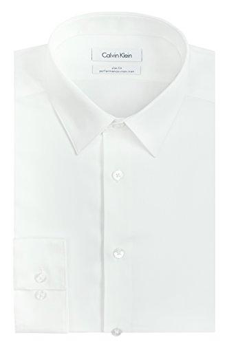 calvin-klein-mens-slim-fit-non-iron-herringbone-point-collar-dress-shirt-white-16-neck-32-33-sleeve