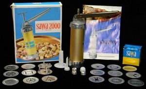 Sawa 2000 Deluxe Cookie Press from Sweden