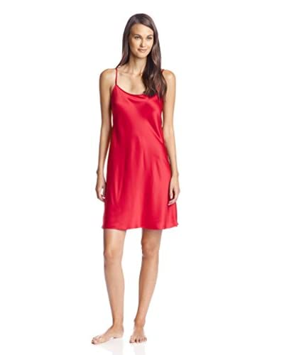 Natori Women's Solid Satin Essential Chemise