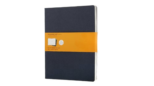Moleskine Ruled Cahier Journal X-Large, Blue, 