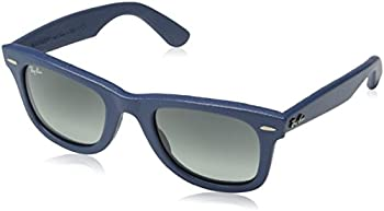 Ray-Ban Blue Leather/Gray Gradient Sunglasses