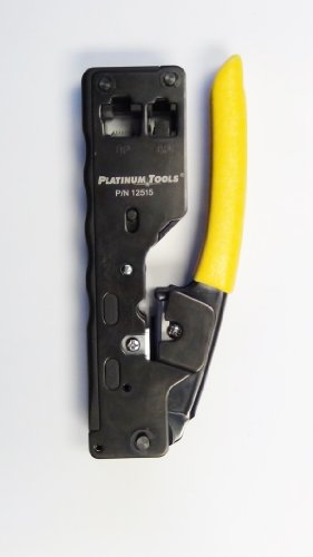 Platinum 12515 Cat6A / 10 Gig / Cat 7 Modular plug Crimp Tool