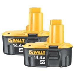 DEWALT DC9091-2 14.4-Volt XRP 2 pack battery