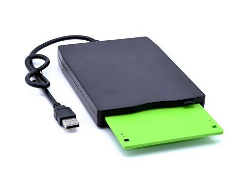 USB Floppy Drive, disquette FDD 8,9cm embarquée USB externe portable 1.44Mo 2pour PC Windows 98/Me/2000/XP/Vista/Windows 7/8MAC compatible