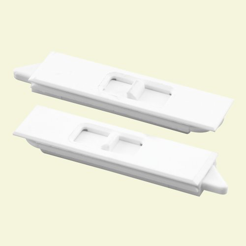 Window Tilt Latch Slide L307 : Slide co w window mortise tilt latch pair white
