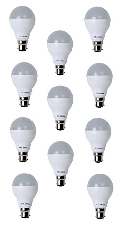 9 Watt LED Bulb (White, Pack of 11)