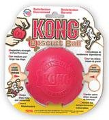 KONG Small Kong Biscuit Ball For Dogs