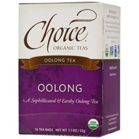 Choice Organic Teas Organic Oolong Tea, 16 BAGS