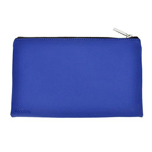 Papeterie Pochette Trousse Pen Cosmetic Bag Fournitures scolaires, bleu