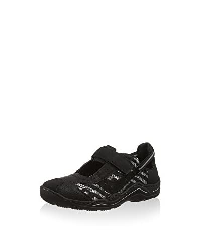 Rieker Sneaker L0570 Women Low-top schwarz