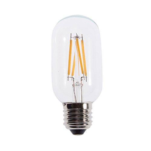 Bloomwin-2Pcs/Lot New Clear Glass Housing Led Lamp Filament Bulb 4Watt E27 Warm White
