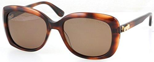 Ted Baker B558 Hav Women'S Brown Polarized Tortoise Sunglasses 54 Mm