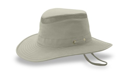 Tilley Endurables T4MO Eco-Airflo Hat,Khaki/Olive,7.875