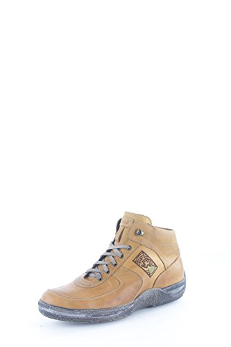 Lion 8693 Sneakers Uomo Pelle Cuoio Cuoio 45