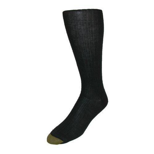 Gold Toe Men's Windsor Wool Over the Calf Socks (Pack of 3), Shoe Size 6 - 12 1/2