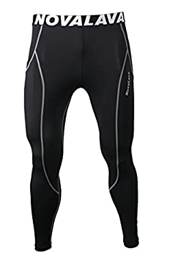 [NovaLava] Mens Womens Compression Tights Under Leggings Base Layer Pants 11
