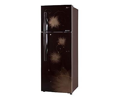 LG GL-D372JHSL Frost-free Double-door Refrigerator (335 Ltrs, 4 Star Rating, Hazel Spring)