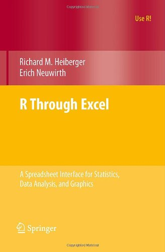 R through Excel a spreadsheet interface for statistics, data analysis, and graphics