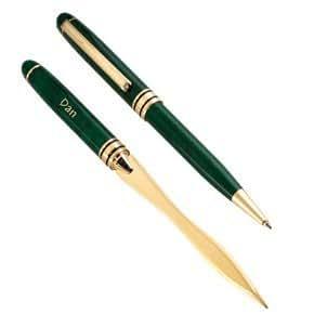 Green Pen Letter Set Writing Pens