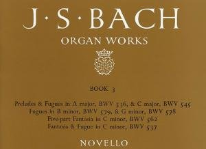 Js Bach Organ Works Book 3 by Music Sales