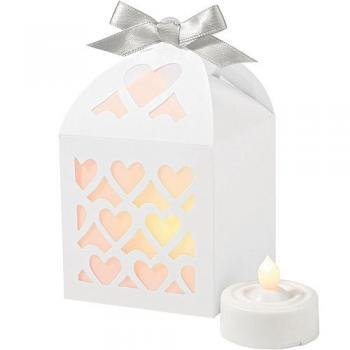 Wilton Paper Lantern Favor Box, White