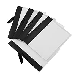 Swing Clip Report Cover (Set of 18) Color: Black
