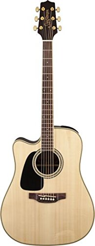 Takamine Gd51Celh-Nat Acoustic-Electric Guitar Left-Handed Dreadnought Cutaway, Natural