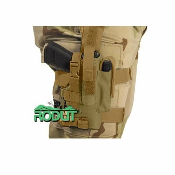 Rodut (TM) Adjustable Right Handed Tactical Leg Holster For Pistol, (Tan)