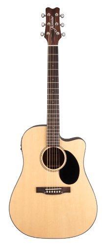 Jasmine Jd39Ce-Nat J-Series Acoustic-Electric Guitar, Natural