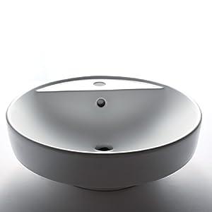 EAGO Design Waschbecken BA141E (Aufsatz + Einbau) Waschschale mit nanobeschichteter Oberfläche  BaumarktKundenberichte und weitere Informationen