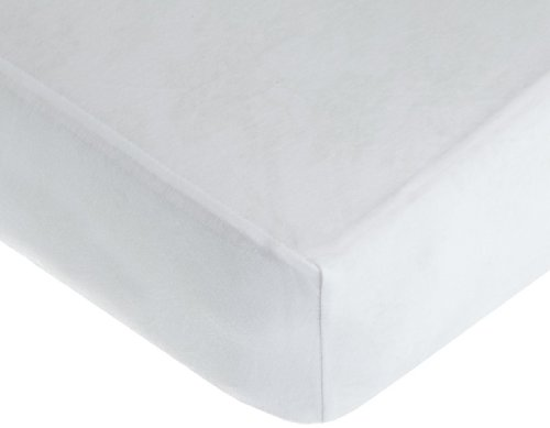 American Baby Company 100% Cotton Value Jersey Knit Crib Sheet, White (Crib Sheet Fitted compare prices)
