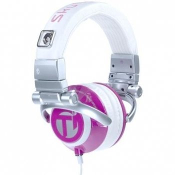 TI DJ Style Chick Stereo Headphone - Pink