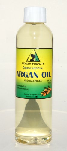 Argan Oil Moroccan Marrakesh Organic Carrier Cold Pressed Pure Hair Oil 4 oz