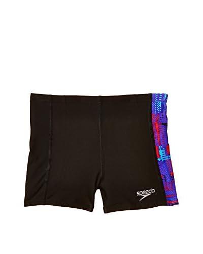 SPEEDO Shorts da Bagno Alv Pnl Asht [Nero/Viola]