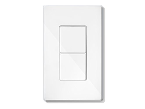 Quirky Ptapt-Wh01 Quirky + Ge Tapt Smart Wall Switch, ,