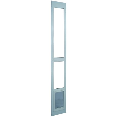 Ideal Pet Products Extra-Large White Modular Patio Pet Door