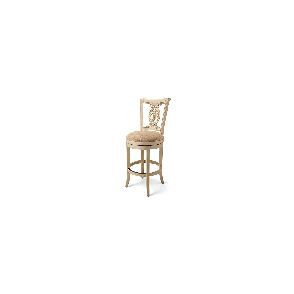 Incredible Carved Purples Bar Height Swivel Bar Stool 30H Seat Brown Machost Co Dining Chair Design Ideas Machostcouk