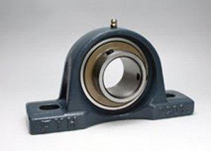 FYH UCPX20 Pillow Block Mounted Bearing, 2 Bolt, 100mm Inside Diameter, Set screw Lock, Cast Iron, Metric