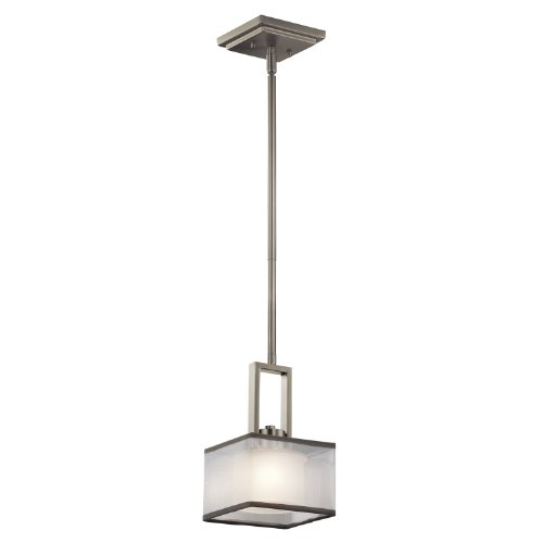 Kichler Lighting 43442NI Kailey 1LT Mini Pendant Brushed Nickel