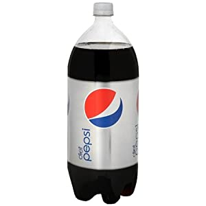 DIET PEPSI SODA 2 LITER 2 LTR BOTTLE