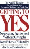 Getting to Yes (revised new edition) (0712653228) by Fisher, Roger