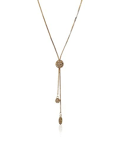 Jules Smith Pave Circle Lariat Necklace