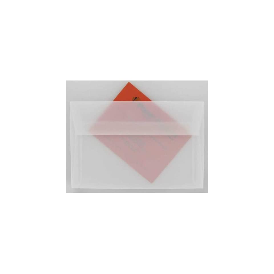 - A9 Envelopes Vellum 25 PK White Translucent