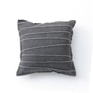 Basic Cushion cover '/ bag C cover LS ' grey 45 x 45 cm