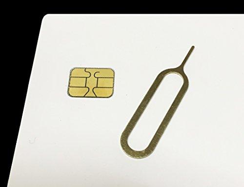 iP-TecAmazon即日出荷 ios8.3対応  softbank iPhone5 5S 純正Nano simカード(0.67mm) アクティベーション〓アクティベートカード activationnano simサイズ+Simリリース付 (1枚)