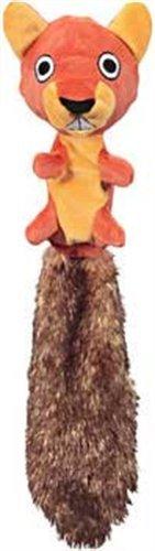 Jw Pet Company Crackle Heads Skippy Squirrel Dog Toy, Large