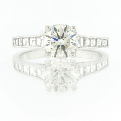 2.35ct Round Brilliant Cut Diamond Engagement