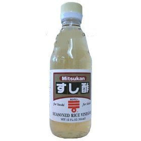 Japanese Seasoned Rice Vinegar - Mitsuikan brand - 12 oz x 2 bottles