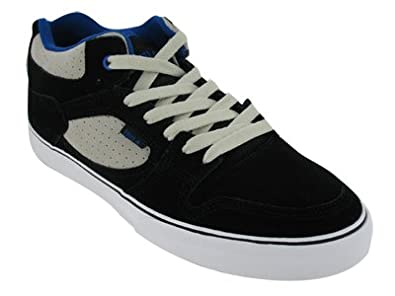 EMERICA Men's Hsu (Black/White/Royal 8.0 M)